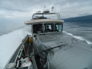 Transiting aboard the Connie K from Juneau to Baranof to Five Finger Lighthouse.