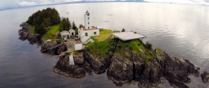 Five Finger Lighthouse shot from quadcopter by Paul Sharpe